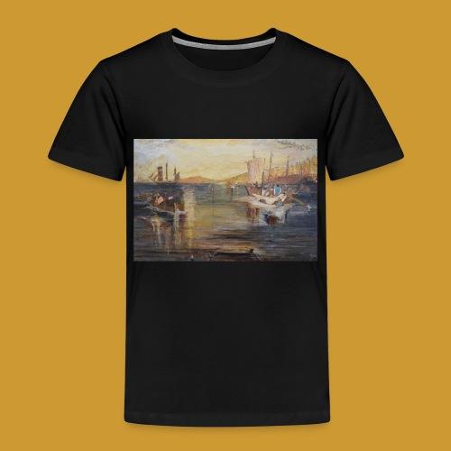 White Fishing - Mark Noble Art - Kids' Premium T-Shirt