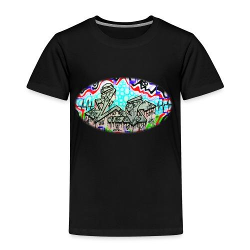 Across the Tracks Blur - Kids' Premium T-Shirt