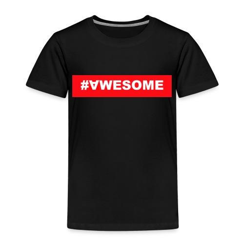 Awesome logo jpg - Kinder Premium T-Shirt