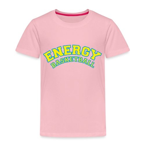 eco logo energy basketball giallo - Maglietta Premium per bambini
