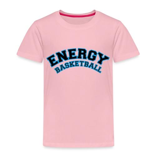 baby energy basketball logo nero - Maglietta Premium per bambini
