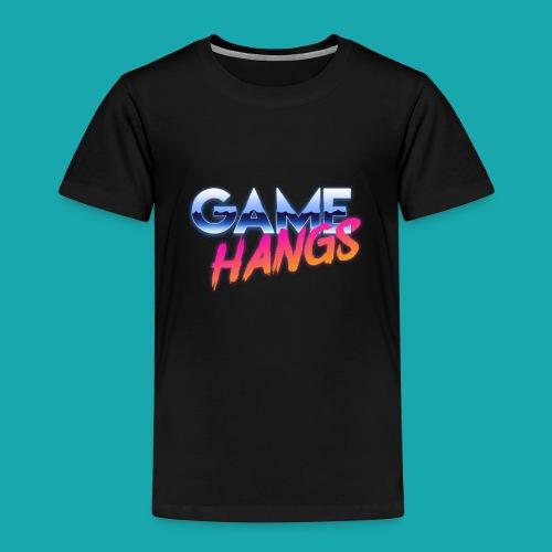 GameHangs Snapback - Kids' Premium T-Shirt