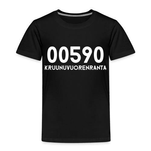00590 KRUUNUVUORENRANTA - Lasten premium t-paita