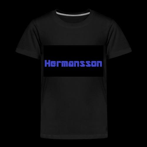 Hermansson Blå/Svart - Premium-T-shirt barn