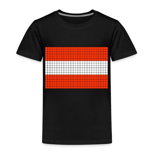 austrian flag - Maglietta Premium per bambini