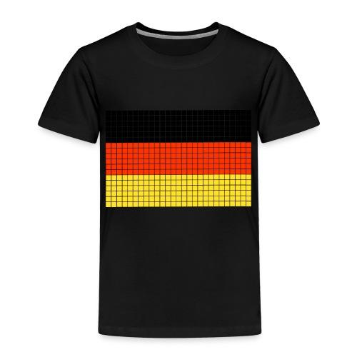 german flag.png - Maglietta Premium per bambini