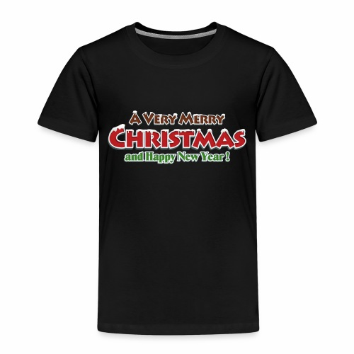 _Merry Christmas_ - Kinder Premium T-Shirt
