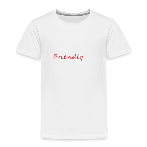 Friendly - Kinder Premium T-Shirt