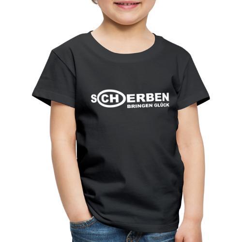 Scherben bringen Glück - Kinder Premium T-Shirt