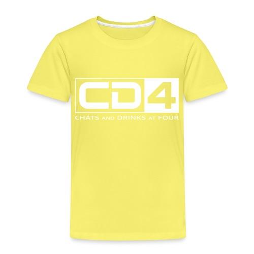 cd4 logo dikker kader bold font - Kinderen Premium T-shirt
