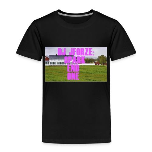SPARK END ONE MODELL - Premium T-skjorte for barn