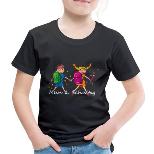 Mein 1. Schultag - Kinder Premium T-Shirt