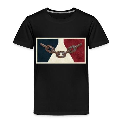 Black County Flag - Kids' Premium T-Shirt