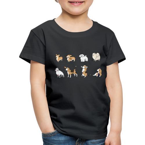 Dogs - Kinder Premium T-Shirt
