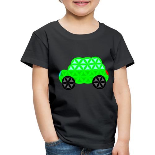 The Car Of Life - M01, Sacred Shapes, Green/R01. - Kids' Premium T-Shirt