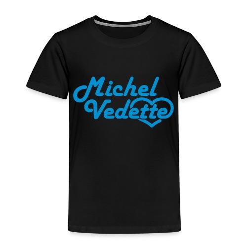 Logo Michel Vedette bleu cyan - T-shirt Premium Enfant