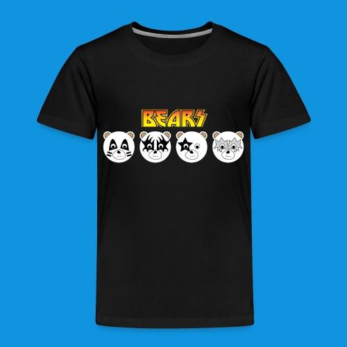 Kiss Bears.png - Kids' Premium T-Shirt