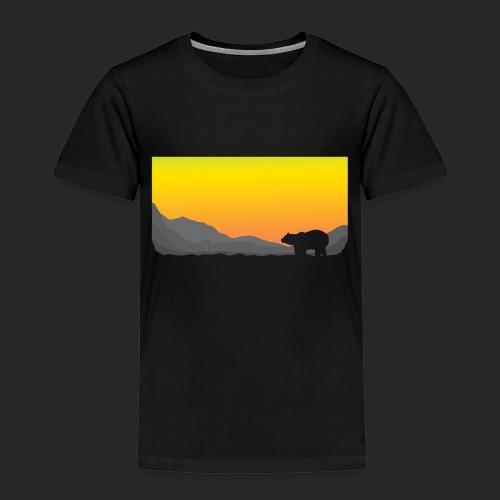 Sunrise Polar Bear - Kids' Premium T-Shirt