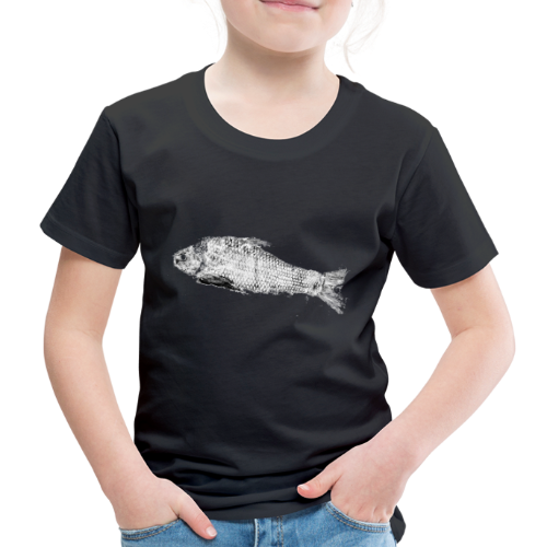 Gyotaku fish ink print - Kids' Premium T-Shirt