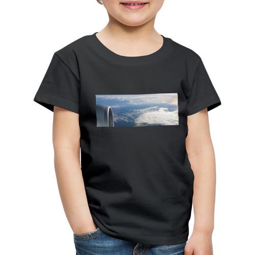 Flugzeug Himmel Wolken Australien - Kinder Premium T-Shirt
