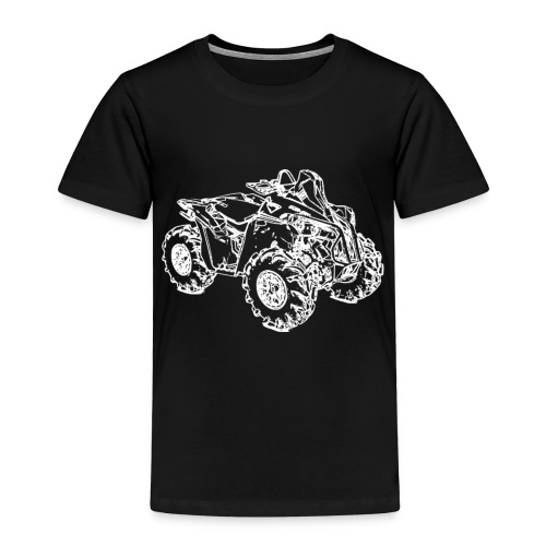 Quad ATV Mudracer - Kinder Premium T-Shirt