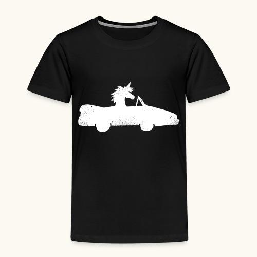 Cadeau de permis de conduire drôle de voiture de la Licorne convertible - T-shirt Premium Enfant