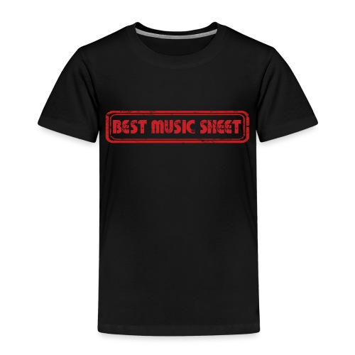 Best Music Sheet Logo 1 - T-shirt Premium Enfant