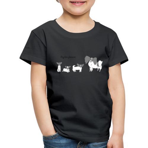 papillon forever - Børne premium T-shirt