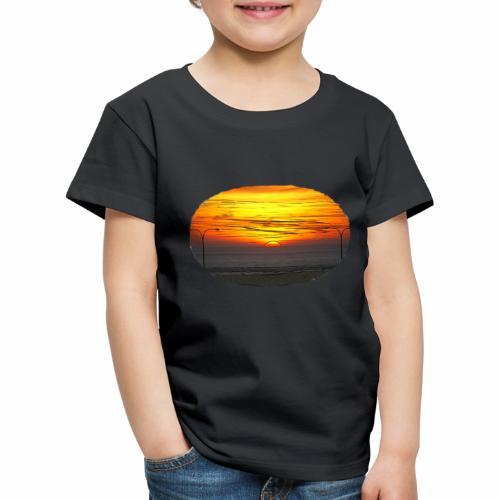 Sonne u Meer - Kinder Premium T-Shirt