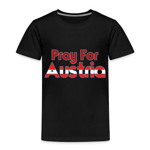 Pray For Austria - Kinder Premium T-Shirt