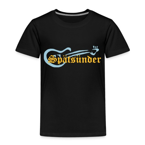 spaetsuendersingle - Kinder Premium T-Shirt