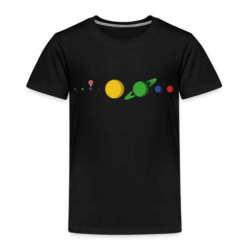 Kugel Maps - Kinder Premium T-Shirt