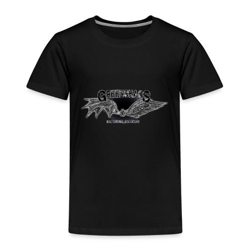 Dämon / Mensch - Schwarz - Kinder Premium T-Shirt