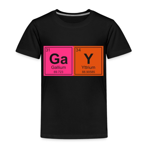 Geeky Gay Periodic Elements - Kids' Premium T-Shirt
