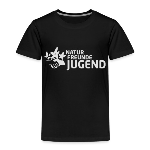 LogoNFJ_weiß_Druck - Kinder Premium T-Shirt