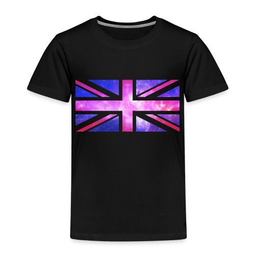 Galaxy Union Jack - Kids' Premium T-Shirt