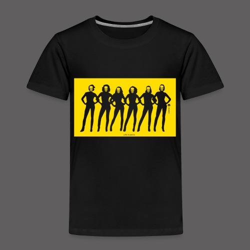 Dark Dolls Yellow - Kids' Premium T-Shirt