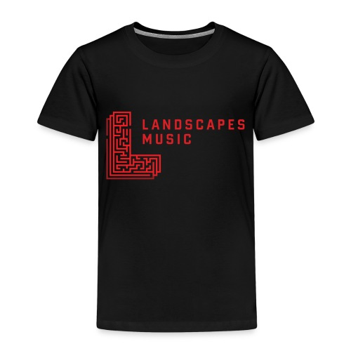 Landscapes Music - W/R - Kids' Premium T-Shirt