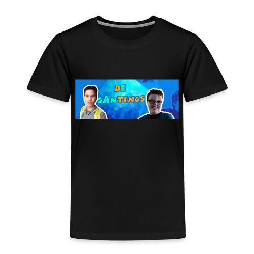 De Santings Banner Design - Kinderen Premium T-shirt