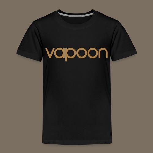Vapoon Logo simpel 01 - Kinder Premium T-Shirt