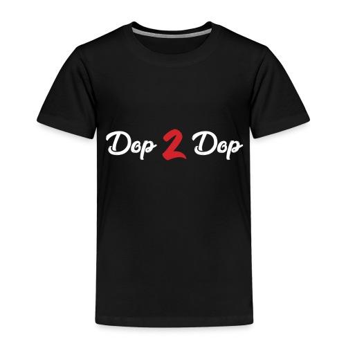 Dop 2 Dop Wit en Rood - Kinderen Premium T-shirt