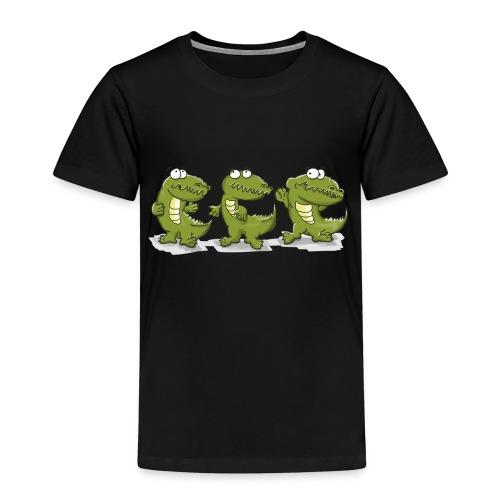 Nice krokodile - Kinder Premium T-Shirt