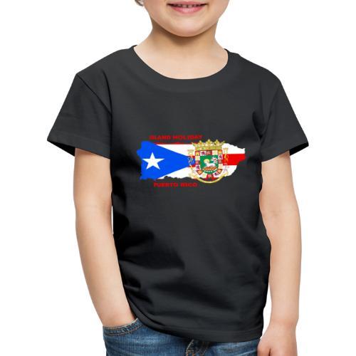 Puerto Rico Island Holiday - Kinder Premium T-Shirt