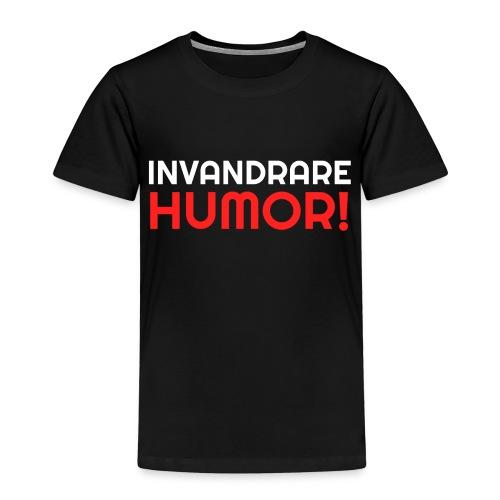 InvandrareHumor - Premium-T-shirt barn