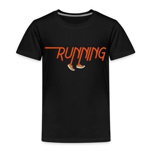 Running - Maglietta Premium per bambini