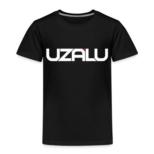 uzalu Text Logo - Kids' Premium T-Shirt