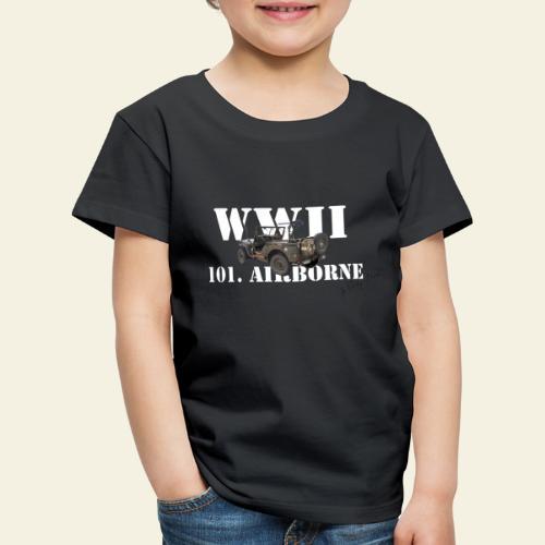 101 airborne png - Børne premium T-shirt