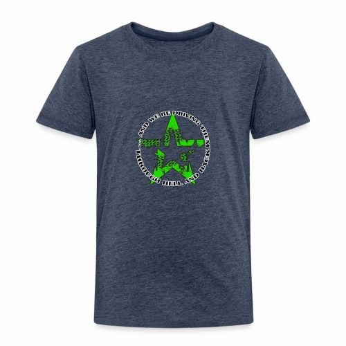 ra star slogan slime png - Kinder Premium T-Shirt