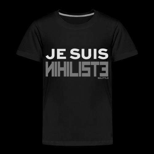 Je suis nihiliste by Lpb - T-shirt Premium Enfant