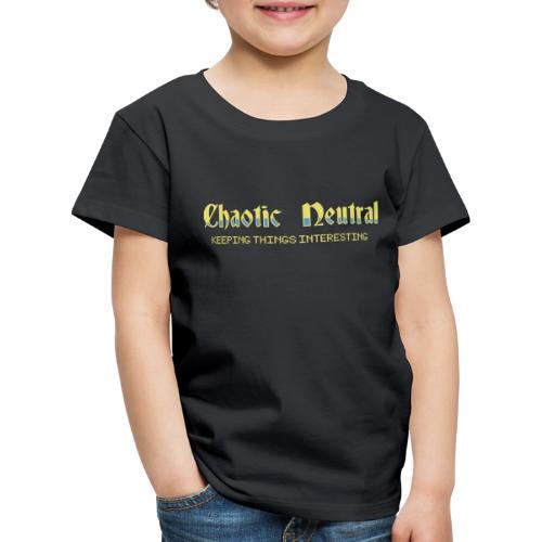 Chaotisch Neutral - Kinder Premium T-Shirt